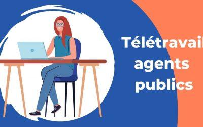 Télétravail agents publics